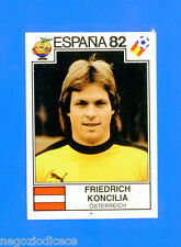 SPAGNA ESPANA '82 -Panini-Figurina-Sticker n. 145 - KONCILIA - AUSTRIA -Rec