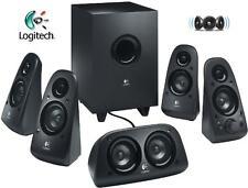 Logitech Z 506 5.1 Surround Sound 3d Haut-parleurs stéréo avec caisson de basses défectueux