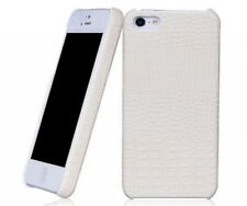 REAL BOROFONE HOCO Crocodile BACK COVER Leather Case for iphone 5 WHITE H2420