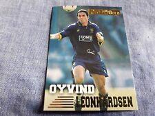 OYVIND LEONHARDSEN Trading card MERLIN'S PREMIER GOLD 1996/97