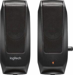 Logitech - Speakers (2-Piece) - Black