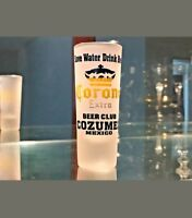 Cozumel, Mexico collectible souvenir tall frosted shot glass