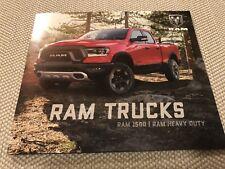 2019 DODGE RAM 1500 RAM HEAVY DUTY 12-page Original Sales Brochure (small)
