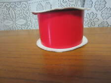 """Vintage Storm King Brand - Red Plastic 2"""" Ribbon Weather Proof Ribbon"""