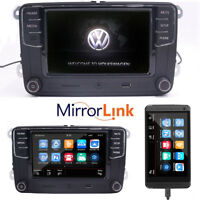 "VW 6.5""Car Stereo Radio RCD510,RCD330G+,Mirrorlink,BT,USB,Golf,Caddy,Passat,Polo"