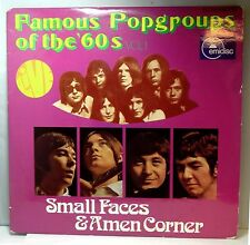 SMALL FACES & AMEN CORNER / Famous Popgroups of the 60's - Netherlands / 2 LP