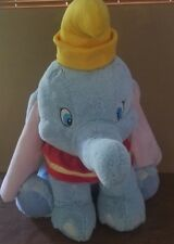 """Disney Store Brand 24"""" Dumbo The Elephant Plush Doll Good Pre Owned Condition!"""