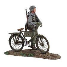 Britains soldados 25037 alemán volkgrenadier usando Parka empujando Bicicleta No. 1