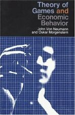 Theory of Games and Economic Behavior by Morgenstern, Oskar Paperback Book The