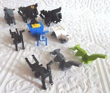Original LEGO Replacement Motorcycle Scooter Body Parts Pieces Agents LOT