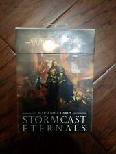Warhammer Fantasy Sigmar Stormcast Eternals WARSCROLL CARDS (french) - sealed