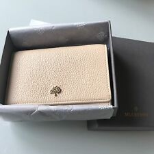 Mulberry Tree Continental Soft Grain Leather Medium French Purse in Buttercream