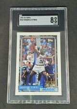 New listing Shaquille O'Neal 1992-93 Topps Rookie Card #362 SGC 8 Shaq
