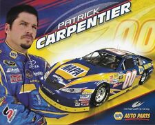 "2010 PATRICK CARPENTIER ""NAPA AUTO PARTS ENGLISH VERS"" #00 NASCAR NWIDE POSTCARD"