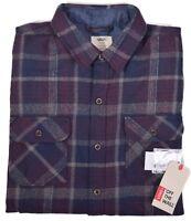Tommy Hilfiger Men/'s $59.50 Fuschia Slim Fit Plaid Button Up Shirt Choose Size