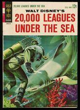 Walt Disneys 20,000 Leagues Under the Sea 1963 Gold Key Movie Comic Captain Nemo