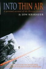 Into Thin Air: Personal Account of the Everest Di... by Krakauer, Jon 0330353977