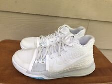 Nike Kyrie 3 GS Ivory Summer Pack 859466-101 White Basketball Shoes Youth Sz 4Y