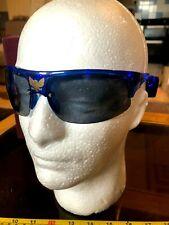 Light Up LED Novelty Glasses Shades Blue New Sunglasses Eagle Motif