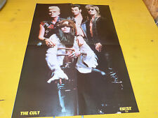 THE CULT - Poster !!! Au verso :SIMPLY RED !!!