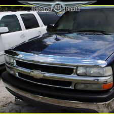 1999-2002 CHEVY SILVERADO Pickup TAHOE Chrome Bug Shield Deflector Hood Guard