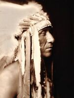 "CROW, Native American Indian, Photograph, photo, western antique decor, 20""x16"""