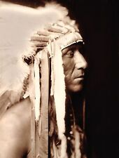"CROW, Native American Indian, Photograph, photo, western antique decor, 20""x16"""