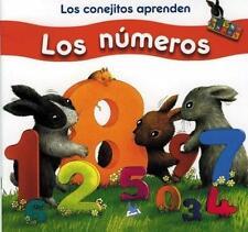 Los conejitos aprenden Los Numeros (Little Rabbit Books) (Spanish-ExLibrary