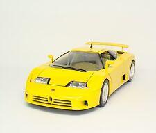 Bugatti EB110 EB 110 1991 - gelb yellow - Bburago 3045 - 1:18