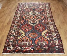 OLD WOOL HAND MADE PERSIAN  ORIENTAL FLORAL RUNNER AREA RUG CARPET 285X 140 CM