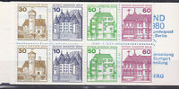 Berlin Markenheftchen H-Blatt Nr 20 postfrisch