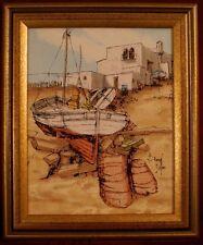 Huile sur toile signée par Bernard Dufour