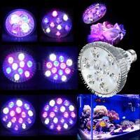 E27 PAR38/PAR30 LED Full Spectrum Coral Plant Grow Light Fish Tank Aquarium