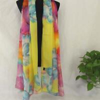 AIP Vintage Elegant Wrap Silk Chiffon Butterfly Scarf  Printed Long Shawl25