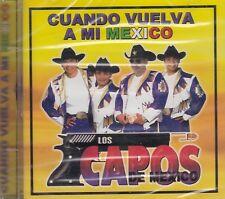 Los Capos De Mexico Cuando Vuelva A Mi Mexico CD New Nuevo sealed Sellado