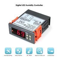 Digital Air Humidity Control Controller w/ Sensor Range 1%~99% RH 10A 220V T8H3