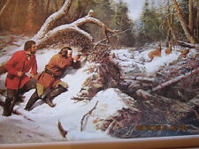 Arthur F tait hunting picture titled First Snow