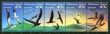 Christmas Islands 349, MNH Birds Abbott's Booby Brown Noddy  Frigatebird  x8918