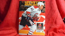 NHL Beckett Magazine Montreal Canadiens Gilbert Dionne June 1992