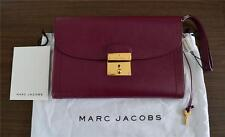 BNWT Classic Marc Jacobs '1984 Isobel' Bordeaux Leather Clutch SS 13 995$