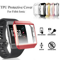 Screen Protector Protective Case TPU Shell Watch Frame For Fitbit ionic