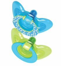The First Years GumDrop Infant Pacifier - 6-18 months Blue/Green