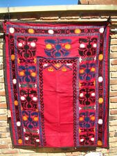 Vintage 100% Suzani broderie Wall Hanging Tapestry ouzbèke fait main Grande B