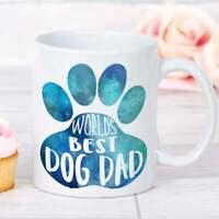 Gift For Dog Dad Dog Dad Fathers Day Worlds Best Dog Dad Pet Dad Gift Mug