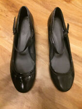 Marks and Spencer Women's Patent Leather Mary Janes Heels