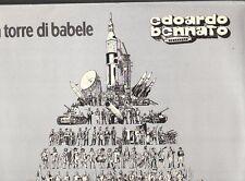 LP 2678  EDOARDO BENNATO  LA TORRE DI BABELE  COPERTINA  APRIBILE