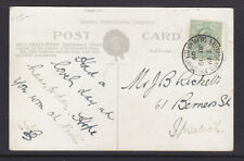 POSTCARD/POSTMARK: 1909 BALLYMACLINTON SHEPHERDS BUSH EXHIBITION.W