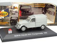 Nostalgie 1/43 - Citroen 2CV Fourgonnette 1952 Grise