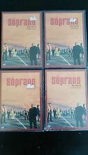 LOS SOPRANO TEMPORADA 3 COMPLETA 13 EPISODIOS 4 DVD NUEVO PRECINTADO NEW SEALED