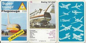 Flugzeuge Quartett Nr. 4243 Ferdinand Piatnik & Söhne